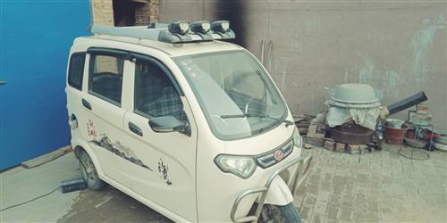 九成新带棚电动三轮车