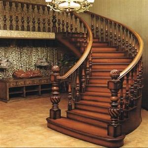 设计定做安装各种实木楼梯有需要请联系18338106501
