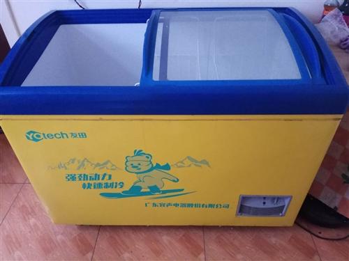 因去外地发展,现出售八九成新冰柜一台