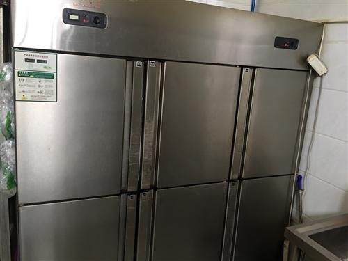 转让三开冷冻冷藏冰柜,卧式冷藏柜,甲醇灶,不锈钢架子,风管式中央空调,美的热水器,桌椅,凳子,全部8...
