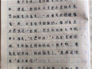 """2019""""外国语杯""""杞县学生作文大赛-005曹贝贝"""