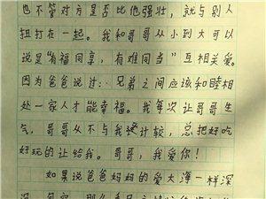 """2019""""外国语杯""""杞县学生作文大赛-014周嘉兴"""