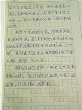 """2019""""外国语杯""""杞县学生作文大赛-018刘依晨"""