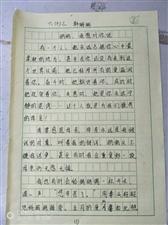 """2019""""外国语杯""""杞县学生作文大赛-022韩珊珊"""