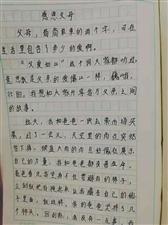 """2019""""外国语杯""""杞县学生作文大赛-029袁茹梦"""