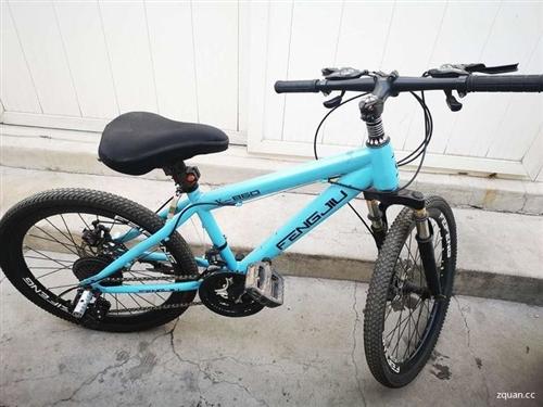 便宜出售二手变速山地自行车一辆,24寸适合8到15岁儿童骑行,8级变速,减震双碟刹,便宜处理价200...