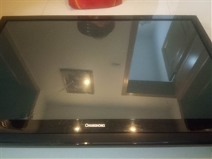 长虹42寸液晶电视,屏幕不怎么好