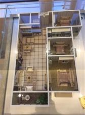 亚威金城3室 2厅 1卫58万元