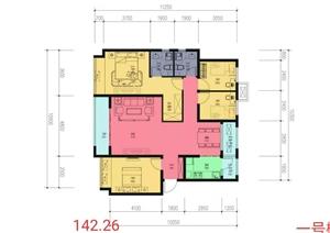天山熙湖3室 2廳 2衛
