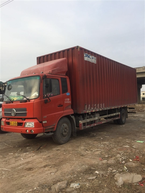 东风天锦160,7米7箱式货车,4年半,车况好,电话,13721260166