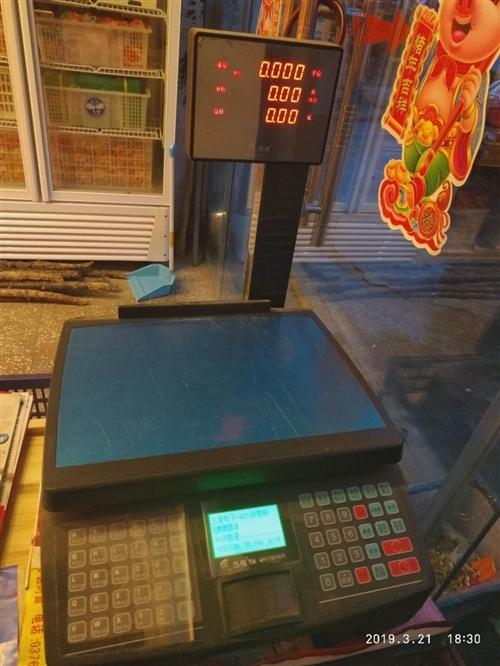 水果店全新電子收銀秤,開店時家里孩子1600買的,一直沒用,現在便宜處理,價格面議