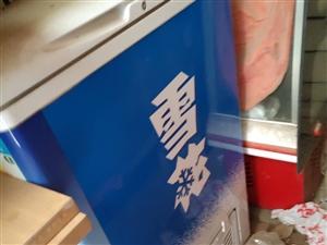 用了6个月,现转让!9.5成新冷藏柜,非诚勿扰