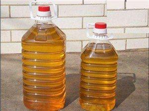 出售自家壓榨的花生油