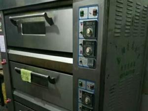 七成新商用燃气烤箱(三层六盘)
