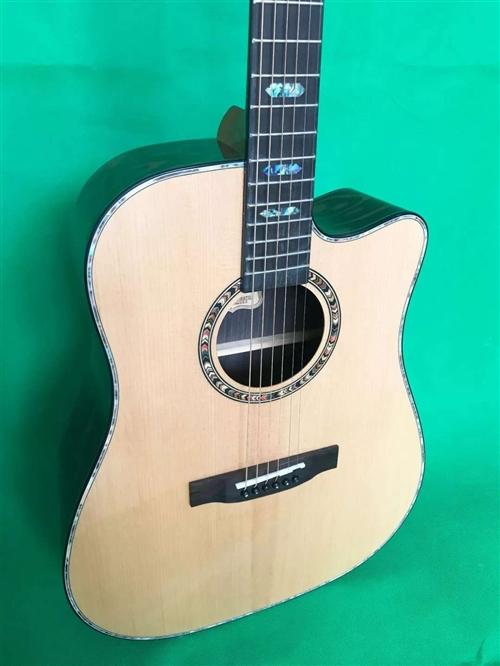朵肯吉他,全新面单哑光,41寸,零售两千,厂家直发1200