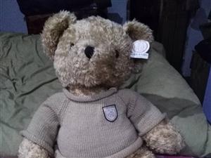 轉讓閑置的毛絨抱抱熊,在家閑置,吊牌還沒有摘,轉給需要的朋友,價格面議,微信同步手機號