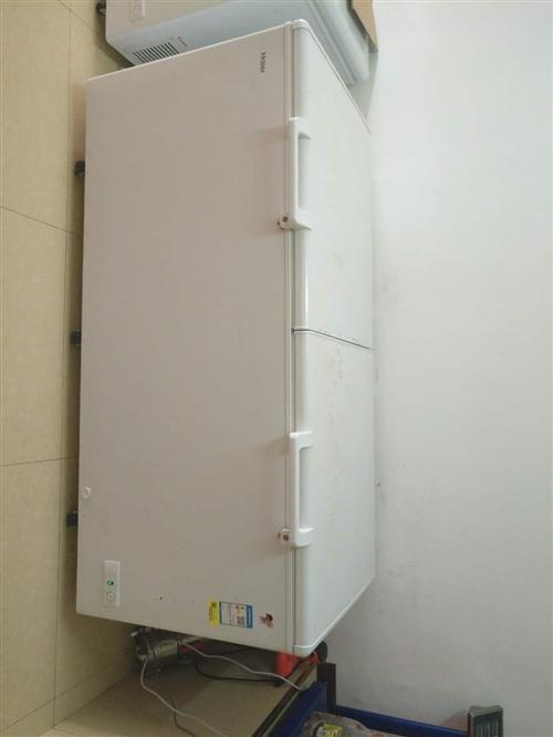 海尔冰柜9成新728升