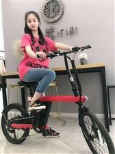 永久智能电踏车符合新国标,脚踏,助力,纯电三种骑行模式随意切换,锂电,铝镁合金车架,六档变速。时尚