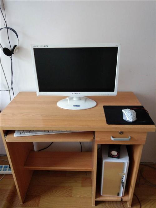 本人有一台八成新的台式电脑低价出售,加送电脑桌1000元钱。有意请电15870861066樊