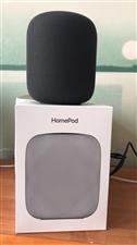出售: 苹果音响homdpod一台 国行正品 深空灰色 刚买来的,仅拆封,音质很出色 低音很重...