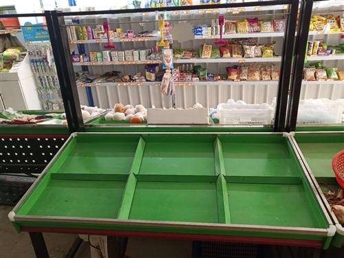 九成新超市蔬菜水果架,用了三个月,急转,给钱就卖!