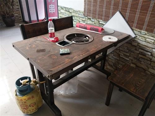 火锅店桌椅板凳全套