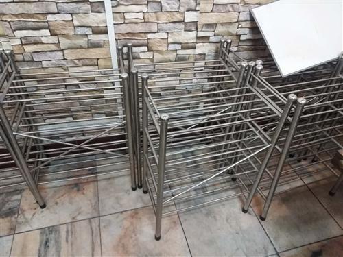 不锈钢架子 可以做鞋架 也可以做菜架