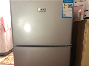 TCL50升小冰箱双门迷你家总节能电冰箱BCD-50H八成新
