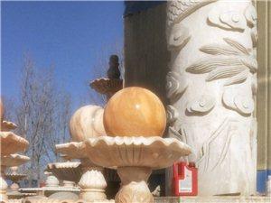 風水球噴泉