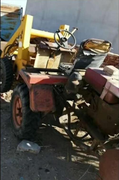 高價回收二手4輪改裝鏟車