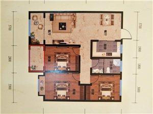 华府名都3室 2厅 1卫40万元