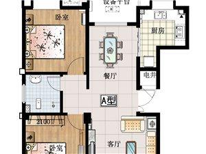西城小高层3室 2厅 2卫面议