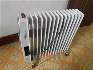 电热油汀一台,14片的冬天超暖活,决对超值