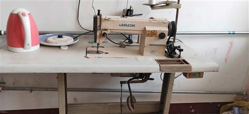 出售一台自用缝纫机,杰克牌的没有毛病上手就能用