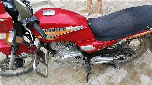 钻豹125陪送的摩托车现在有车了骑不到了
