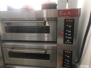 三麦烤箱,厂家订货,一层带石板蒸汽,9成新