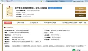 武汉中劲体育管理有限公司鄂州分公司