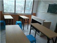 出售10张桌子,2张黑板,九成新,本来准备开辅导班用,现在有事耽搁,不开了。价格面议~联系电话151...