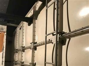 消防玻璃钢水箱2.5米,高2.5宽5米长。30立方,出售
