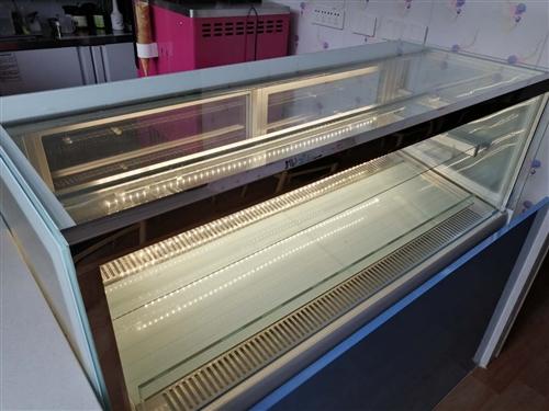 99成新冷藏展示柜保鮮柜商用蛋糕柜水果柜甜品冰柜風冷1.2*0.5*0.76