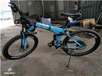 出售山地自行车一辆,双减震可折叠,有兴趣的朋友看看
