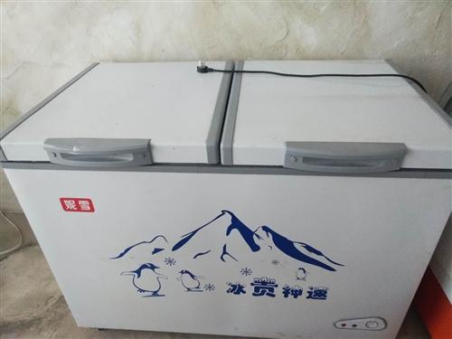 两个冰柜,双温单温,才用了三个月