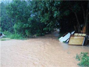 �川�@��地方下暴雨就被淹
