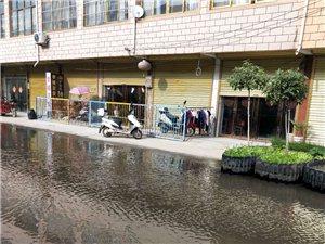 临淮岗水塔往南一条街,街面成河面!