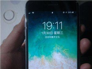 自用苹果6p64G909元出售