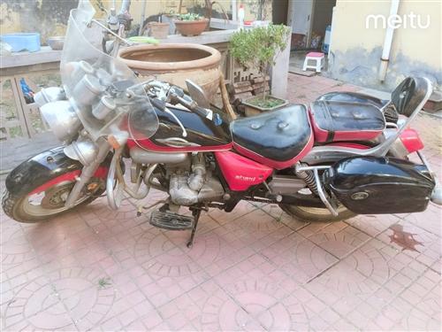 个人摩托车一辆,因上班远,在家闲置,希望有缘人带走