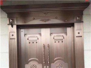订做各种规格防盗门,非标门,铁艺大门,