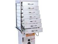 蒸柜商用抽屉式蒸柜钢化玻璃蒸柜不锈钢蒸包柜点心柜蒸柜糕点蒸箱。 才用一个月。蒸柜很好用。但是忙不过...