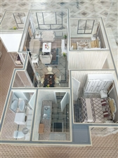 弘胜明珠学府3室 2厅 2卫46万元
