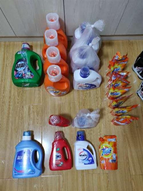 淘寶買多了洗衣液 有需要的便宜轉 3kg一大瓶只要30塊 都是品牌的 家里用不了那么多而已 比超市便...